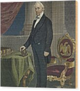 James Buchanan (1791-1868) Wood Print