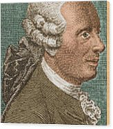 Jean Le Rond Dalembert, French Polymath Wood Print