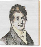 Joseph Fourier, French Mathematician Wood Print