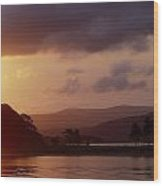 Kenmare Bay, Dunkerron Islands, Co Wood Print