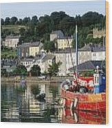 Kinsale Harbour, Co Cork, Ireland Wood Print