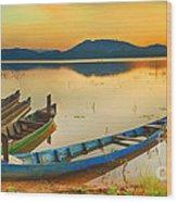 Lak Lake Wood Print
