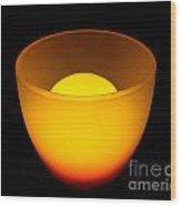 Light Lamp Wood Print by Odon Czintos