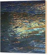 Light On Water Wood Print
