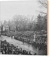 Lincolns Inauguration Wood Print