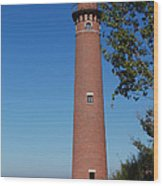 Little Sable Point Lighthouse Wood Print