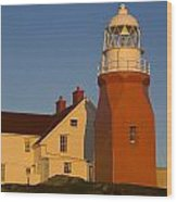 Long Point Lighthouse, Twillingate Wood Print
