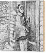 Longfellow: Standish Wood Print