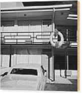 Lorraine Hotel Site Of The Murder Of Martin Luther King Now The National Civil Rights Museum Memphis Wood Print