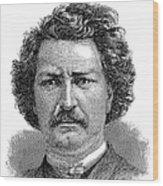 Louis Riel (1844-1885) Wood Print