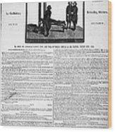 Louis Xvi: Execution, 1793 Wood Print