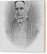 Lucretia Coffin Mott Wood Print