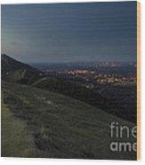 Malvern Hills Wood Print