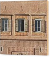 Marrakech In Morocco Wood Print