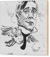 Maurice Maeterlinck Wood Print