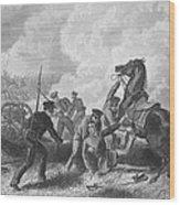 Mexican War: Palo Alto Wood Print by Granger