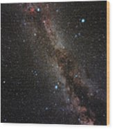 Milky Way Wood Print by Eckhard Slawik