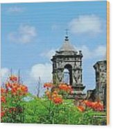 Mission San Jose San Antonio Wood Print