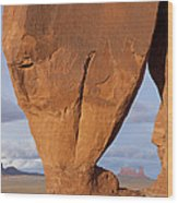 Monument Valley, Usa Wood Print by John Burcham