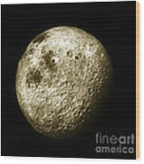 Moon, Apollo 16 Mission Wood Print by Science Source