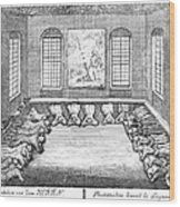 Moravians, 1757 Wood Print by Granger