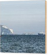 Needles On The Isle Of Wight As Viewed From Mudeford Wood Print