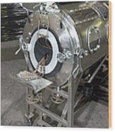 Negative Pressure Ventilator, Iron Lung Wood Print