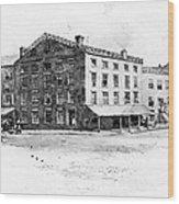 New York: Fraunces Tavern Wood Print