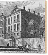 New York: Medical College Wood Print