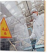 Nuclear Fuel Assembly, Russia Wood Print