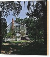 Oakley Plantation Wood Print