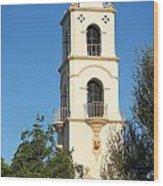 Ojai Post Office Tower Wood Print