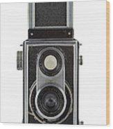 Old Camera Wood Print