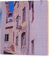 Paisajes Del Algarve Wood Print