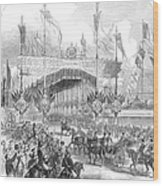 Paris Exposition, 1855 Wood Print