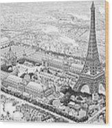 Paris Exposition, 1889 Wood Print