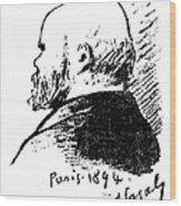 Paul Verlaine (1844-1896) Wood Print