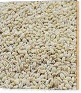 Pearl Barley Wood Print