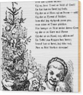 Peters Jul, C1870 Wood Print