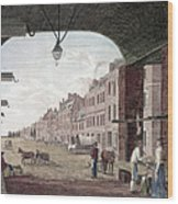 Philadelphia: High Street Wood Print