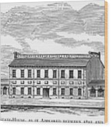 Philadelphia State House Wood Print
