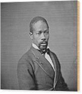 Portrait Of An African American Man Wood Print