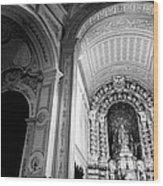 Portuguese Church Wood Print