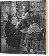 Presidential Campaign, 1884 Wood Print