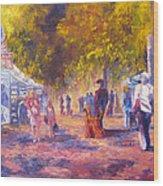 Promenade Wood Print