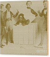 Resurrection Of Henry Box Brown Wood Print by Photo Researchers