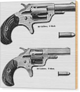 Revolvers, 19th Century Wood Print by Granger