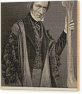 Richard Owen, English Paleontologist Wood Print