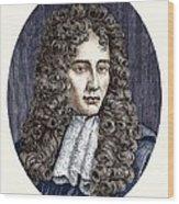 Robert Boyle, Irish Chemist Wood Print
