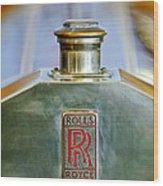 Rolls-royce Hood Ornament Wood Print